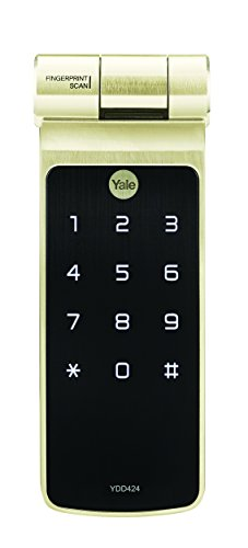 Yale YDD424 Biometric Fingerprint Smart Digital Deadbolt Door Lock