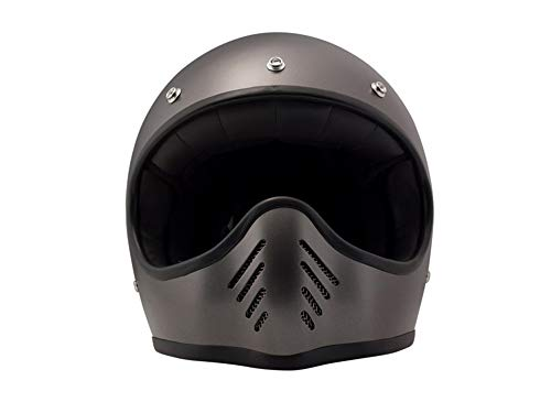 DMD, Motorradhelm, Seventyfive M Metallicgrau