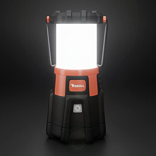 Blazin Fireball | Brightest Dimmable LED Lantern Rechargeable USB | 1000 Lumen Storm, Hurricane, Emergency Light | Power Outage | Power Bank For Phones | Rechargeable Lamps