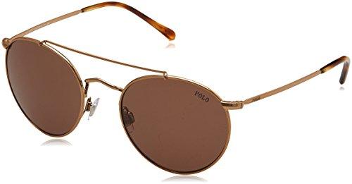 Polo Ralph Lauren 0Ph3114 933473 51 zonnebril, goud (Rose/Brown)