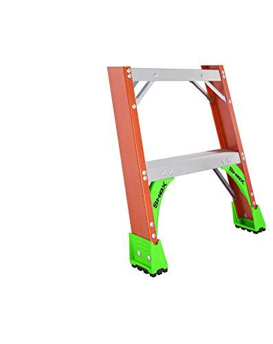 Louisville Ladder FH1506 Fiberglass Pro Shelf Ladder, Type IA, 300-Pound Load Capacity, 6-Feet