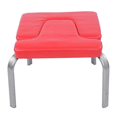 ROSEBEAR Banco de yoga para cabeza, silla de yoga para familia, kit de fitness con almohadillas de poliuretano, alivia la fatiga y aumenta el cuerpo.