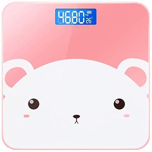 LKK-KK Escala Inteligente Peso Corporal Llamado Calidad Balance Electronic Body Fat Escala Adulto Báscula