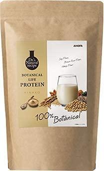 アンファー (ANGFA) ボタニカルライフ プロテイン (きな粉味) ソイプロテイン おきかえ 美容 女性用 [ 植物性 / 低糖質 / 低脂質 / 低カロリー /20種 スーパーフード / 大豆 ソイ ] 375g