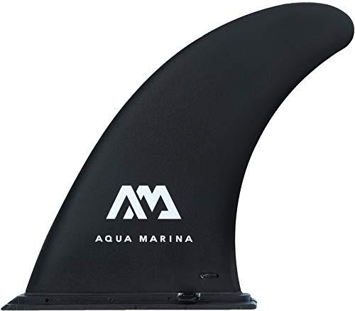 "Aqua Marina iSUP 9"" Large Center Fin schwarz 22 x 18 cm Finne für Stand up Paddle Board"