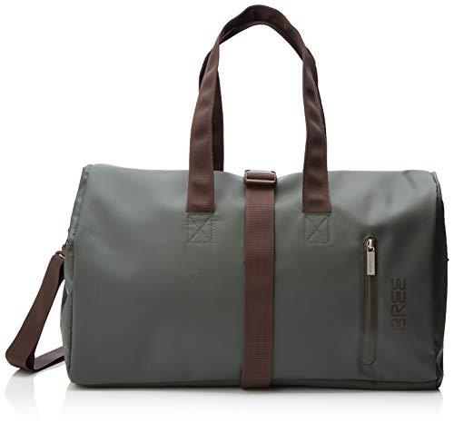 BREE Unisex-Erwachsene PNCH 722 Messenger Bag S Shopper, Grün (Climbing Ivy), 25x44x50 cm