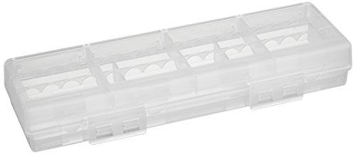 サンワサプライ 単3形・単4形対応大容量タイプ 電池ケース クリア DG-BT6C