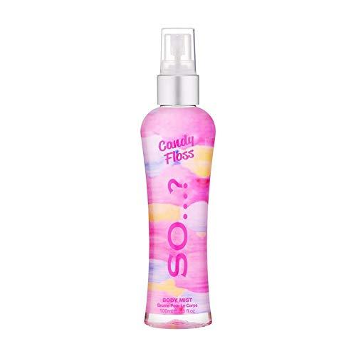 SO(ソウ)SOキャンディフロスボディミスト100mlキャンディフロスの香り100ミリリットル(x1)