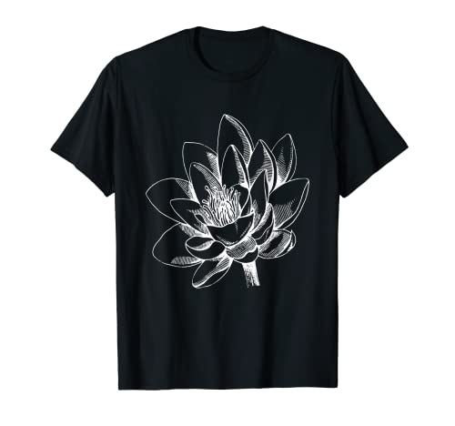 Plantas Vintage Amantes Botanical Floral Flor Floral Hojas Camiseta