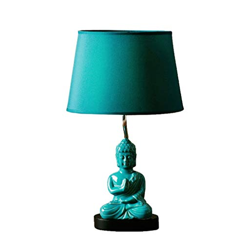 IKEA Boeddha Statue Licht Warm, tafellamp, slaapkamer, nachtkastje, creatief, minimalistisch, modern, retro mode