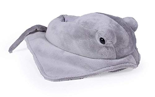 9088-3 - Sting Ray - Large - Happy Feet Kids and Adult Animal Slippers