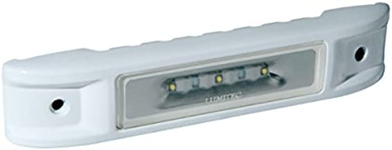 Lumitec Lighting 101520, LED Engine Room Light, Ibiza, White Housing, White Non-Dimming