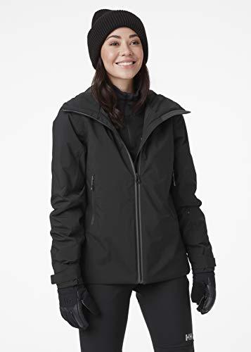 Helly Hansen W Kimberley Jacket Chaqueta, Mujer, Black, M