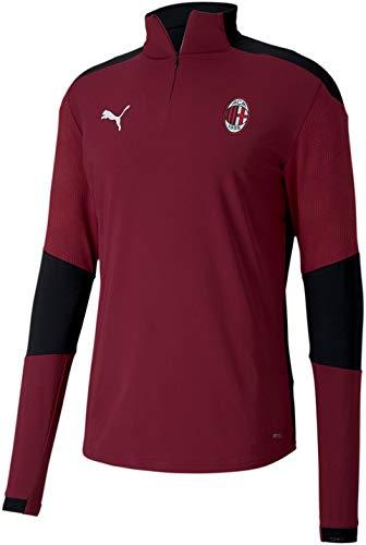 PUMA World Cup Soccer AC Milan Mens AC Milan Training Jersey, Puma White-Tango Red, S