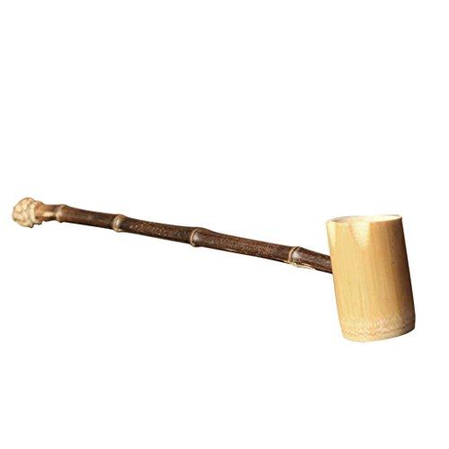 MagiDeal Japanischer Bambus Wasser Schöpfkelle Schöpflöffel - # 3, 43x7x5cm