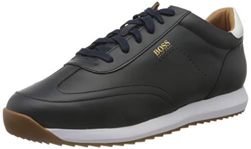 BOSS Herren Sonic_Runn_nawt Sneaker, Dark Blue401, 40 EU, 6 UK
