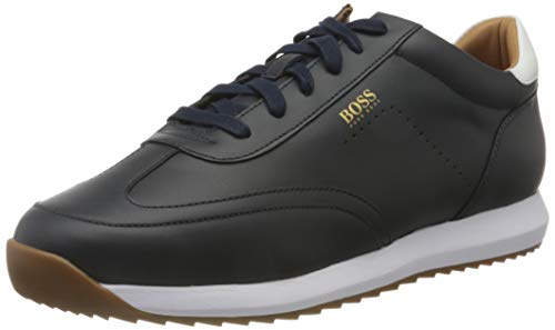 BOSS Herren Sonic_Runn_nawt Sneaker, Dark Blue401, 40 EU, 6 UK