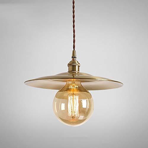 Lyuez Messing industrie wind strohoed kroonluchter vintage restaurant nacht koper plafondlamp compleet koperen dichtlichaam glazuur zonder zwarte decoratieve plafondlamp