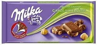 Milka (Germany) - Ganze Haselnusse (Hazelnut) 3-Pack