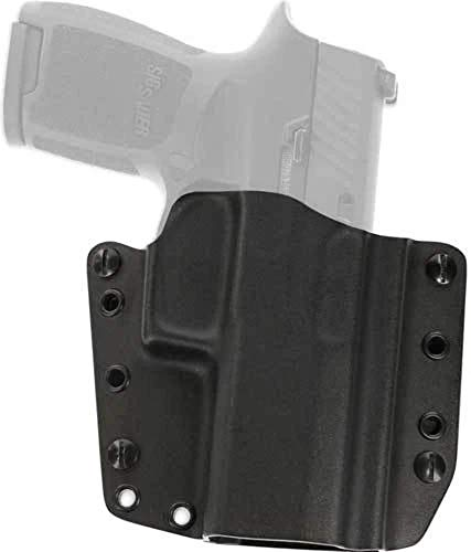 Galco Corvus Belt/IWB Kydex Holster, Compatible with Smith & Wesson M&P 40 Shield, Smith & Wesson M&P 40 CVS652