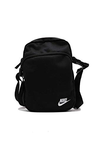 Nike Bolso bandolera Heritage, Gris ahumado, gris ahumado, gris iridiscente, talla única