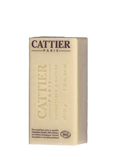 Cattier-Paris Heilerde Seife Sheabutter BIO, 3er Pack (3 x 150 g)
