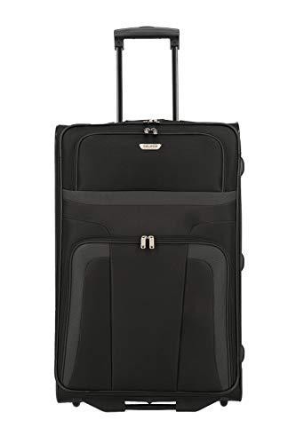 Travelite Valigia Orlando, 73 cm, 85 litri, Nero, 98489