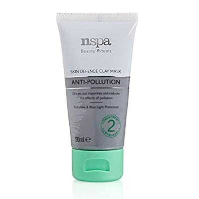 N-Spa NSPA Beauty Rituals Anti-Pollution Skin Defence Clay Mask, Vegan Grey, 50 ml by Mibelle LTD