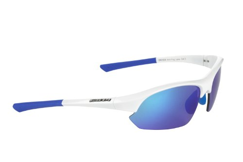 Swiss Eye Slide - Gafas de deporte, talla única, color blanco/azul