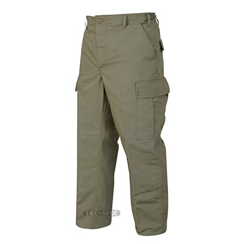 Tru-Spec Men's BDU Pant, Olive Drab, 3X-Large Long