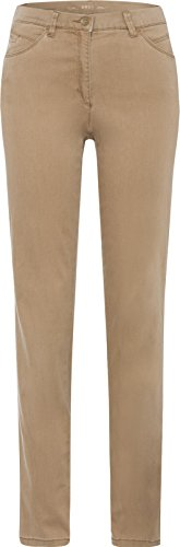 BRAX Damen Style Carola Trend Hose, Camel, W36/L30 (Herstellergröße: 46K)
