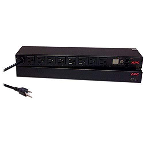 APC Rack Mount PDU, Switched Rack 120V/15A, (8) Outlets, 1U Horizontal Rackmount (AP7900B)