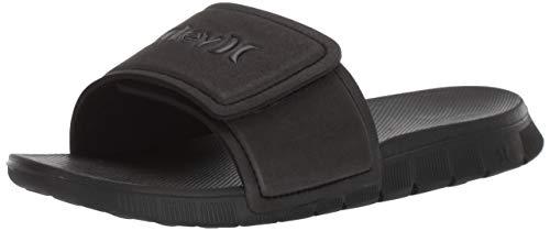 Nike M Hrly Fusion 2.0 Slide, Scarpe da Spiaggia e Piscina Uomo, Nero Black Black 011, 44 EU