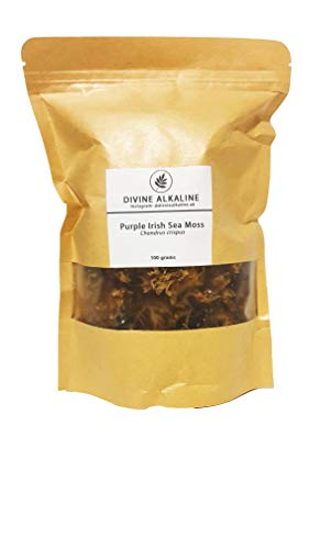 Purple SEA Moss - 100g Divine Alkaline Vegan