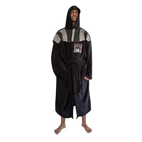 Star Wars Darth Vader Uniform Fleece Bathrobe Big and Tall Black