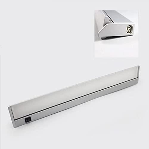 ASNHJH Faretto A LED per Specchio da Bagno Lampade Tipo Pasta con Interruttore 10W Compongono Le Luci dell'Armadio, Ruotabile di 180 °