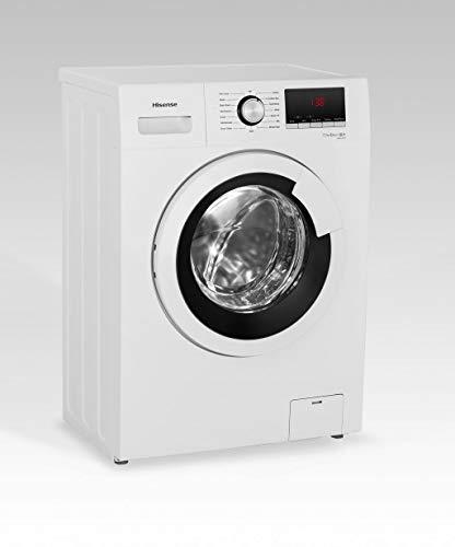 Hisense WFHV7012 lavatrice Libera installazione Caricamento frontale Bianco 7 kg 1200 Giri/min A+++