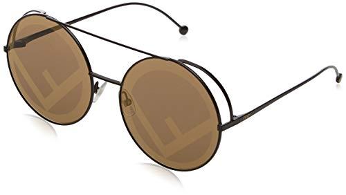FENDI FF 0285/S EB 09Q 63 Gafas de sol, Marrón (Brown/Bw Black Brown), Mujer