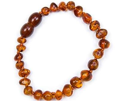 Collier Ambre 33cm // Garantie de Remboursement! Multi - 100/% Plus Haute Qualit/é Certifi/é lAmbre la Baltique Authentique Collier Perles de Plus Gros!