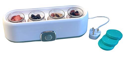 Yoghurt Maker Machine with 4 Gla...