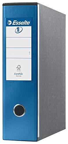 ESSELTE G53 EUROFILE Registratore - f.to commerciale dorso 8 cm - Blu metallizzato - 390753960