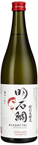 Akashi Sake Brewery Honjozo Tokubetsu 15%vol NV (1 x 0.72 l)