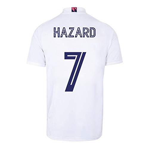 Champion's City Kit - 7 Hazard - Camiseta y Pantalón Infantil Primera Equipación - Real Madrid - Réplica Autorizada - Temporada 2020/2021