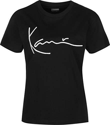 Karl Kani Damen T-Shirts Signature Basic schwarz M