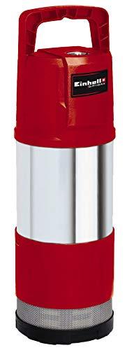Einhell Tauchdruckpumpe GE-PP 1100 N-A (1100 W, max. 6000 l/h, 45 m Förderhöhe, max. Eintauchtiefe 12 m, Kabellänge 15 m, Überlastschalter, mit Automatikfunktion und Trockenlaufsicherung)