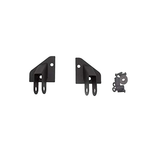 RAMPAGE PRODUCTS 8685 Black Mirror Relocation Bracket for 1986-1995 Jeep Wrangler YJ - Pair