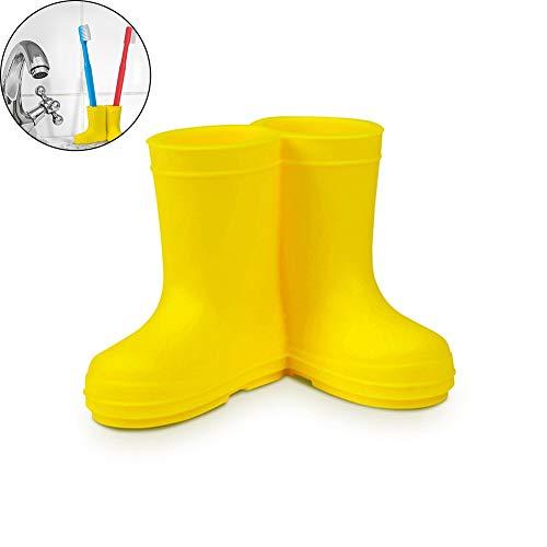 Ndier 1Stk Regen Stiefel Zahnbürste und Zahnpasta Halter für Badezimmer Tidy und Dekoration Home dekor
