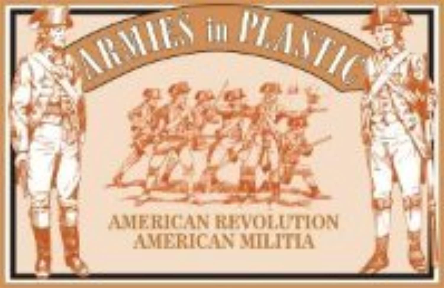 Armies in Plastic AIP5463 American Revolution American Militia X 20