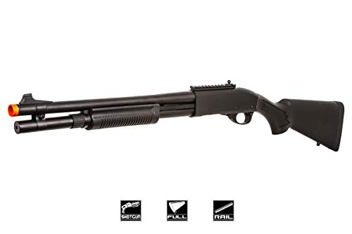 Jag Arms Scattergun HDS Gas Airsoft Shotgun (Black)