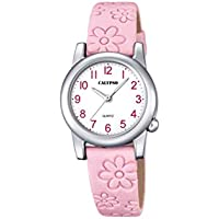 Calypso Reloj Análogo clásico para niñas de Cuarzo con Correa en Cuero K5710/2